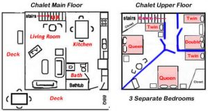 Floor Plans are Not Drawn to Scale