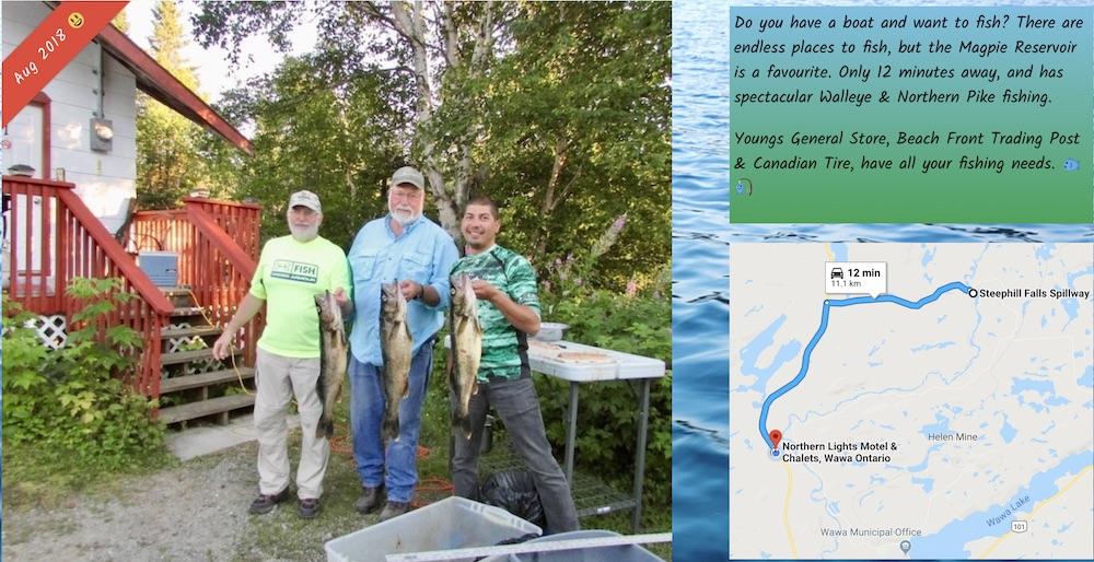 Fishing The Magpie River Wawa