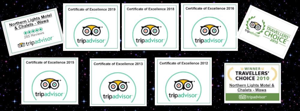 Wawa Hotel Tripadvisor Awards