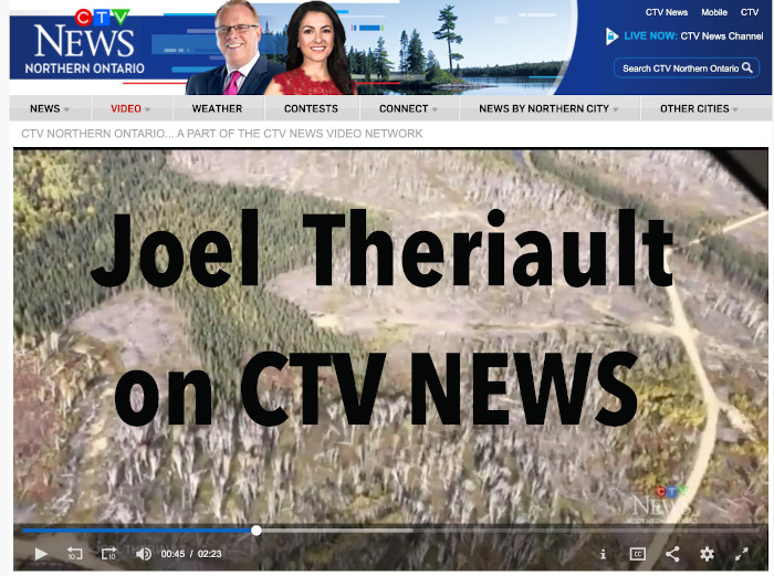 Joel Theriault on CTV news