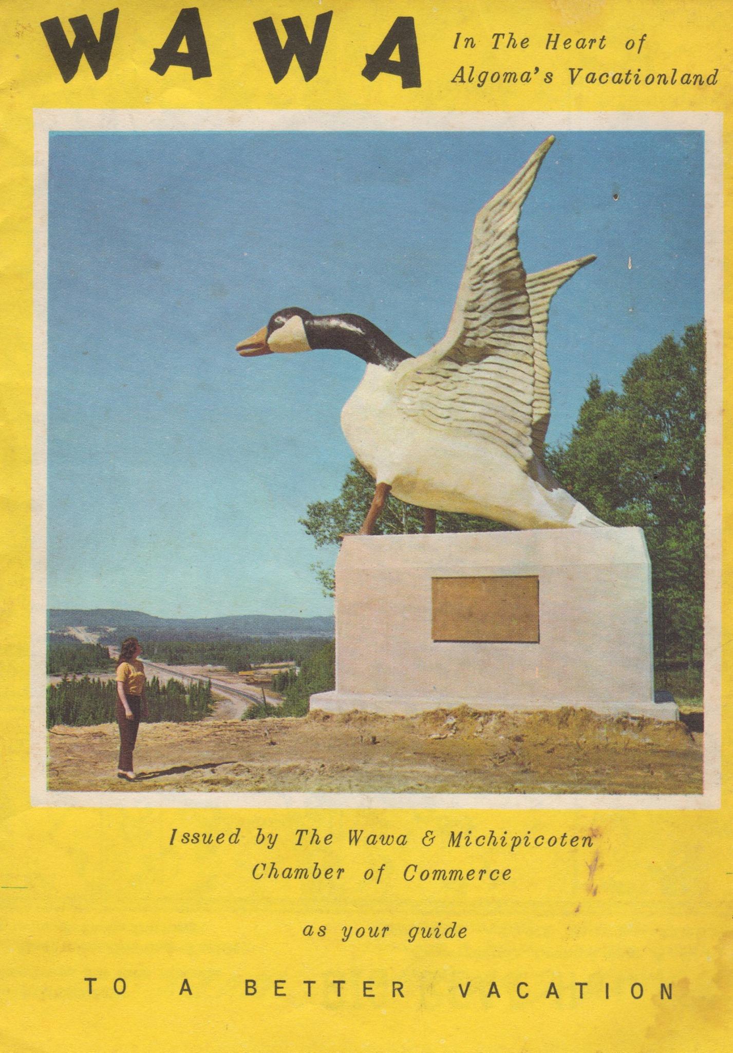 Northern Lights Motel Original Wawa Goose